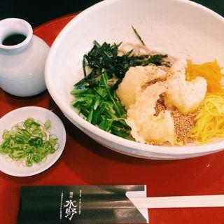 わさびおろし天ぷら蕎麦(麺所 水野 )