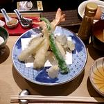 京のお野菜と大海老の天麩羅御膳(ランチ)