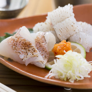 鱧の炙り(割烹鮨ます水)