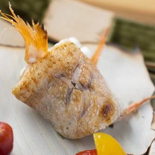 金目鯛の塩焼き(割烹鮨ます水)