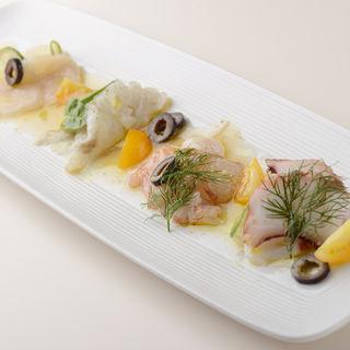 鮮魚のカルパッチョ(リストランテ カリエラ )