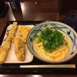 釜玉うどん(丸亀製麺 御茶ノ水店 )