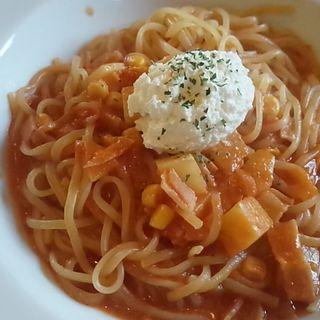 北海道 リコッタチーズのトマトソース(ナポリの食卓 パスタとピッツァ 足利店 )