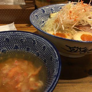 すっごいズワイ蟹の冷やしつけ麺(必死のパッチ製麺所 )