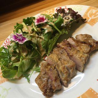 豚の味噌漬け(愛情たっぷり手料理 やきとり・しゃぶしゃぶ 来幸 )