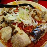 辛口ガチ味噌肉ソバ(肉増し)
