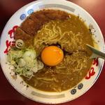 カツカレー麺(らー麺や (麺や))