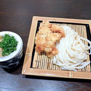 とり天ざる(うどん職人さぬき麺之介 )