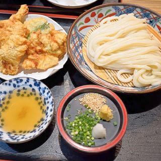 鶏天ざる(麺むすび )