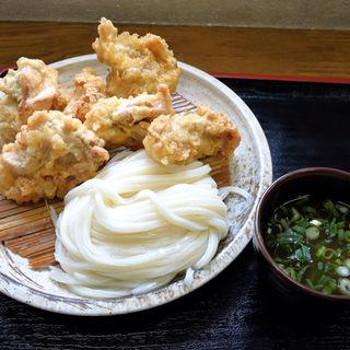とり天ざる(うわさの麺蔵 )