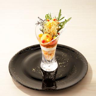 季節野菜のムースカクテル(レストラン 間)