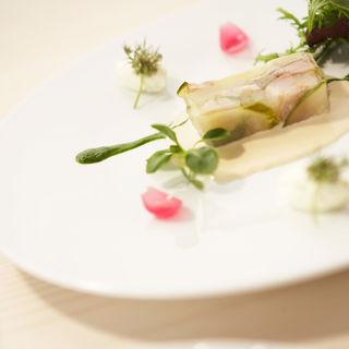 野菜のテリーヌ(レストラン 間)