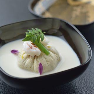 海老真薯 クリーム仕立て(十駕 (じゅうが))