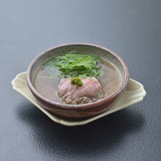 鴨肉のすき焼き風(十駕 (じゅうが))