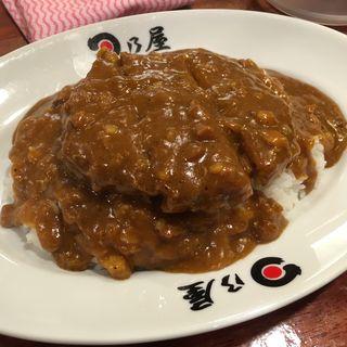 メンチカツカレー(日乃屋カレー 茅場町店 )