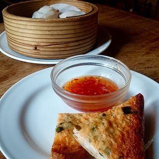タイ海老トースト(モンスーンカフェ たまプラーザ店)
