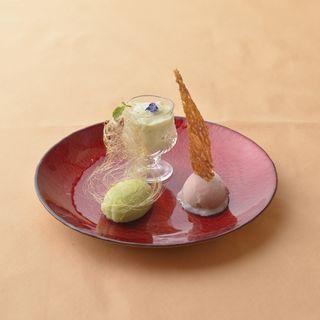 本日のデザート(フレンチキュイジーヌ ティアレ (French Cuisine Tiare))
