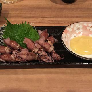 ホタルイカの酢味噌和え(立山)