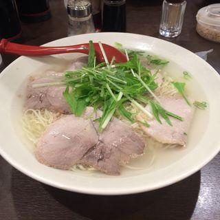 チャーシュー麺(揚子江ラーメン 総本店 (ようすこう))