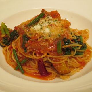 お野菜たっぷりトマトソーススパゲッティ(ディキシーダイナー 練馬店 (Dexee Diner))