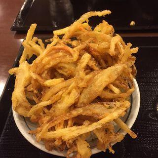かきあげ丼(丸亀製麺 カレッタ汐留店 )