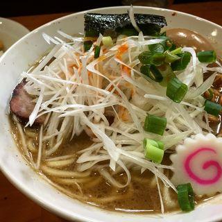 ネギラーメン 味玉トッピング(麺 まる井 (めん まるい))