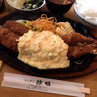 ジャンボ&ジャンボエビフライ(キッチン欧味 (キッチンオウミ))