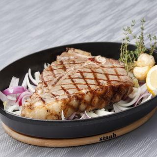 豚肉のグリル(グリルレストラン マンジャーレ シェフズライブステージ 新浦安 )