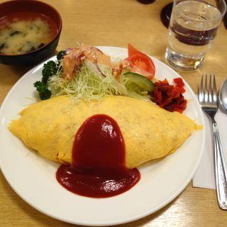 オムライス(Cランチ)(レストラン シラツユ (SHIRATUYU))
