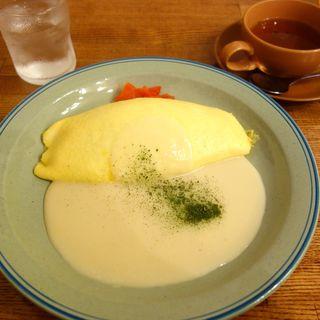 高菜オムライス
