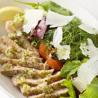 豚肉のグリル 山葵ソース(日本料理 「さくら」 ヒルトン東京お台場 )
