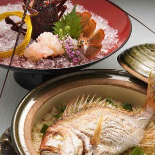 真鯛の土鍋(日本料理 「さくら」 ヒルトン東京お台場 )