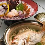 真鯛の土鍋