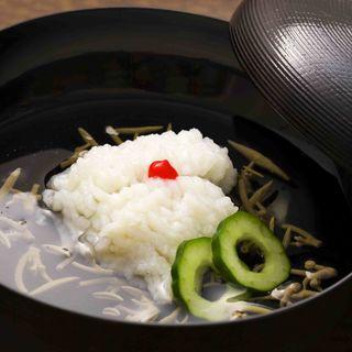 鱧の湯引き(日本料理 「さくら」 ヒルトン東京お台場 )