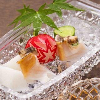 ばい貝のお造り(日本料理 「さくら」 ヒルトン東京お台場 )