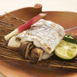 鯖とマツタケのグリル(日本料理 「さくら」 ヒルトン東京お台場 )