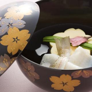 河豚のグリル(日本料理 「さくら」 ヒルトン東京お台場 )