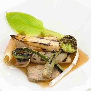 レバームース グリル野菜(日本料理 「さくら」 ヒルトン東京お台場 )