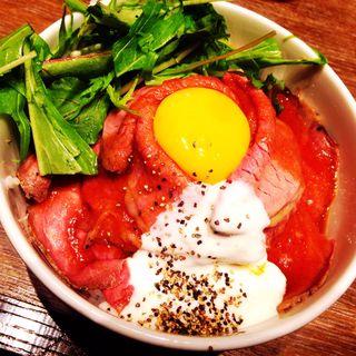 ローストビーフ丼(ガブリミート )