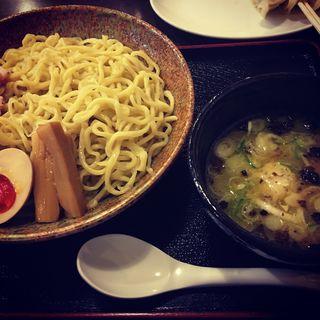 特製鶏節薫るつけ麺(らぁ麺 おかむら )