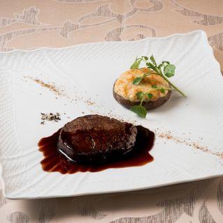 牛ヒレ肉のグリル(レストラン・ルアンジュ)