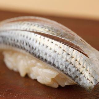 鯖の握り(鮨 麻葉 (スシ アサバ))