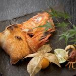 金目鯛の塩焼き
