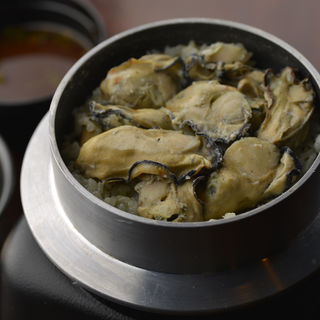 牡蠣の土鍋(海華月 乃木坂店 )