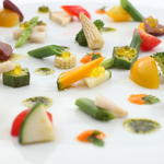 温野菜の一皿