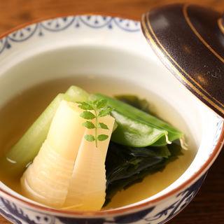 筍の煮付け(知仙 (ちせん))