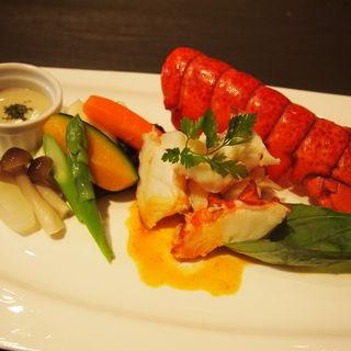 温野菜とオマール海老のグリル(ブォナージョ (Buon'Agio))