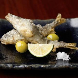 鮎の塩焼き(青山 仁 )