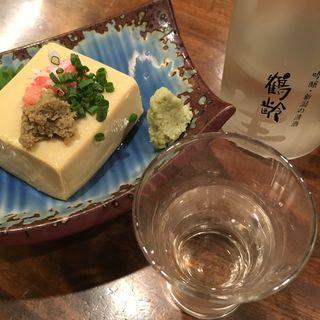かに味噌豆腐(海鮮道楽ととや)