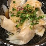 水餃子(ネギ醤油)